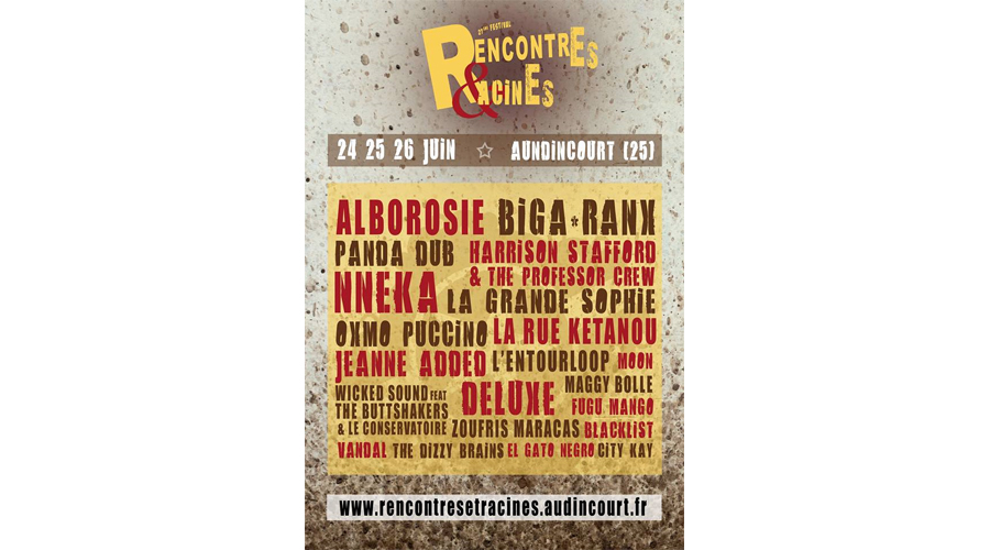 Rencontre et racine 2017 video