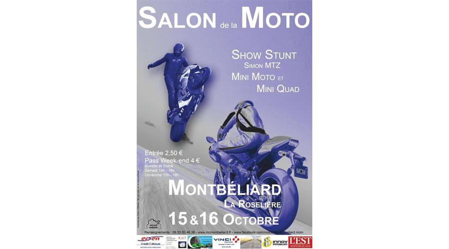 Salon de la moto montb liard for Salon de la moto 2016