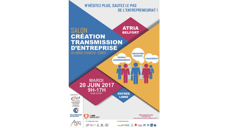 6 me salon de la cr ation transmission d entreprise du for Salon creation entreprise