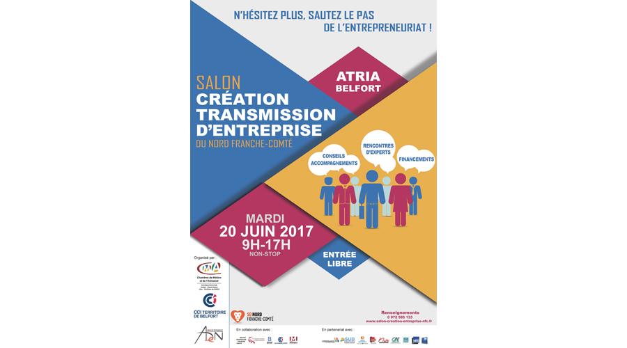 6 me salon de la cr ation transmission d 39 entreprise du nord franche comt 2017 - Salon creation d entreprise ...