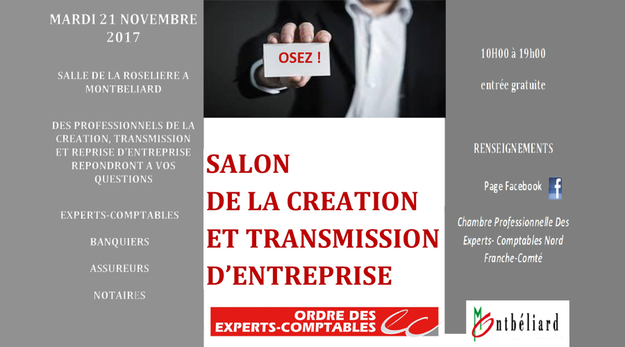 Pub salon de la cr ation et transmission d 39 entreprise for Salon creation entreprise