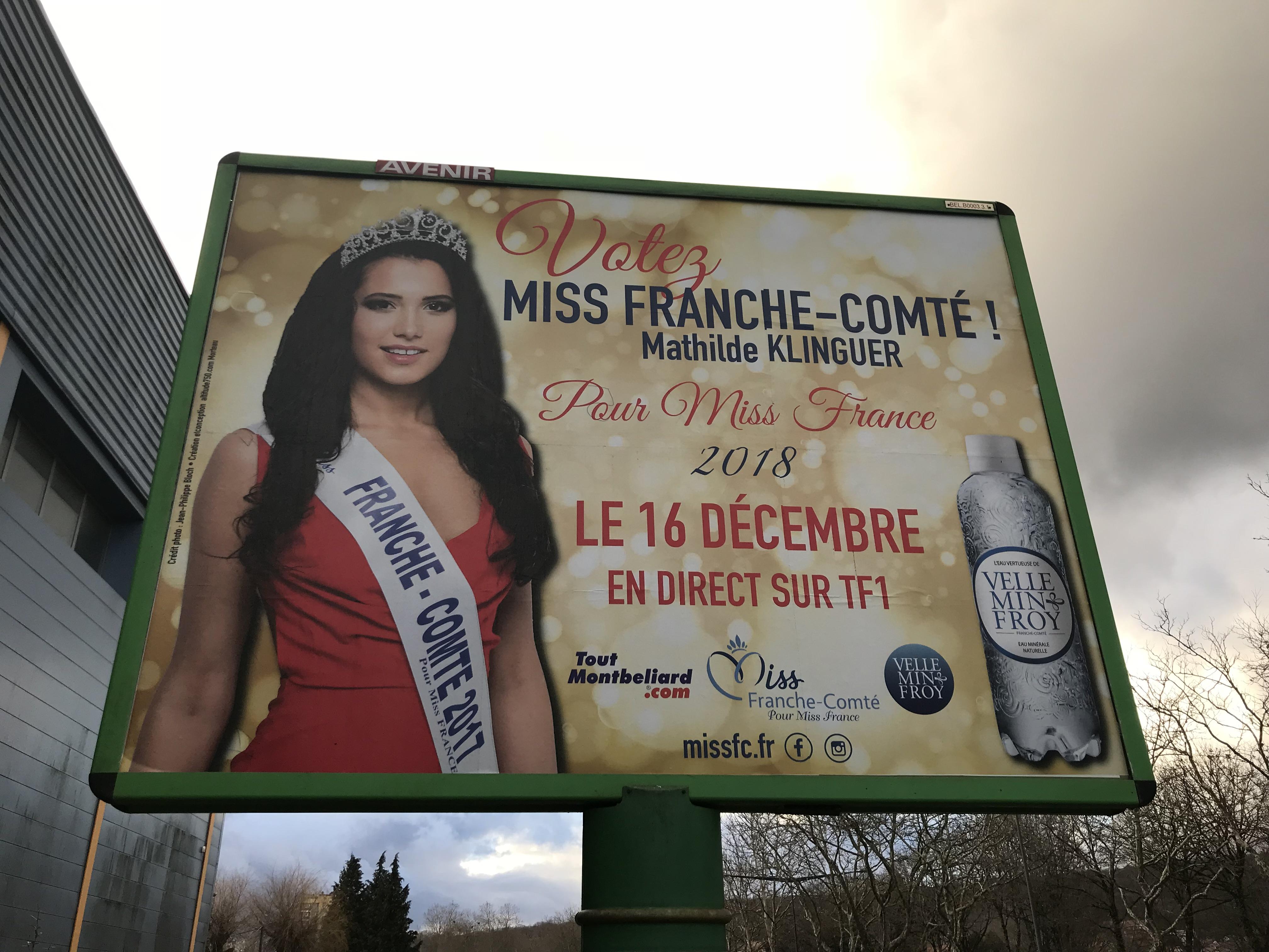 part-Miss Franche-Comté pour Miss France 2018