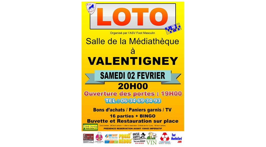 loto valentigney 020219
