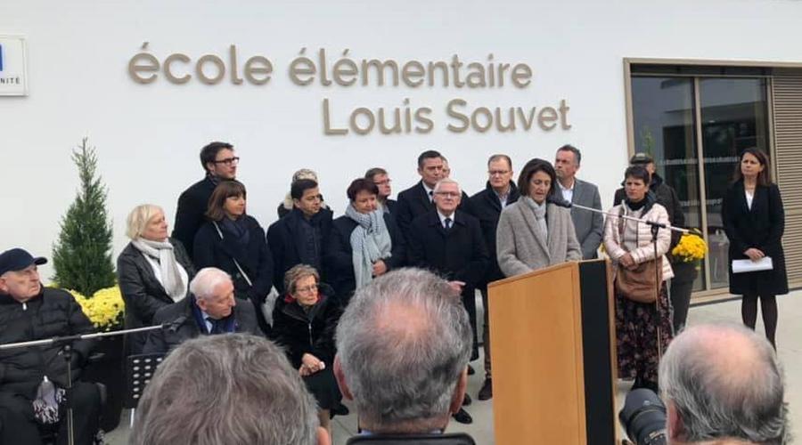 ecole louis souvet inauguration