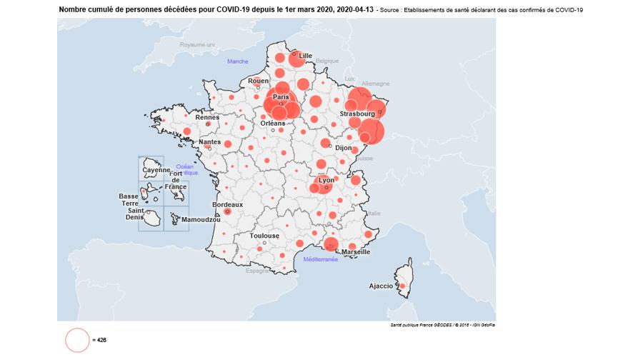 coronavirus carte 130420